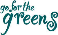 Go for the Greens Sticky Logo